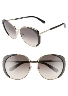 Salvatore Ferragamo 60mm Gradient Cat Eye Sunglasses