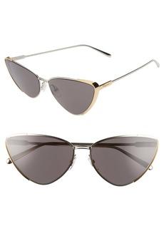 Salvatore Ferragamo 63mm Oversize Cat Eye Sunglasses