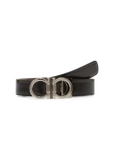 Salvatore Ferragamo Adjustable & Reversible Double Gancio Leather Belt