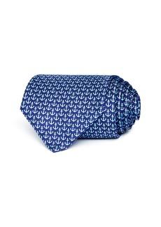 Salvatore Ferragamo Anchor Silk Classic Tie