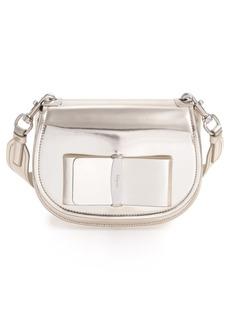 Ferragamo Salvatore Ferragamo Anna Metallic Leather Crossbody Bag ba2b15a9dda92
