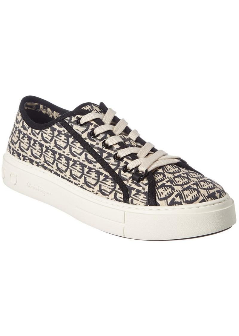 Salvatore Ferragamo Anson Canvas Sneaker