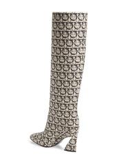 Salvatore Ferragamo Antea Gancini Logo Tall Boot (Women)