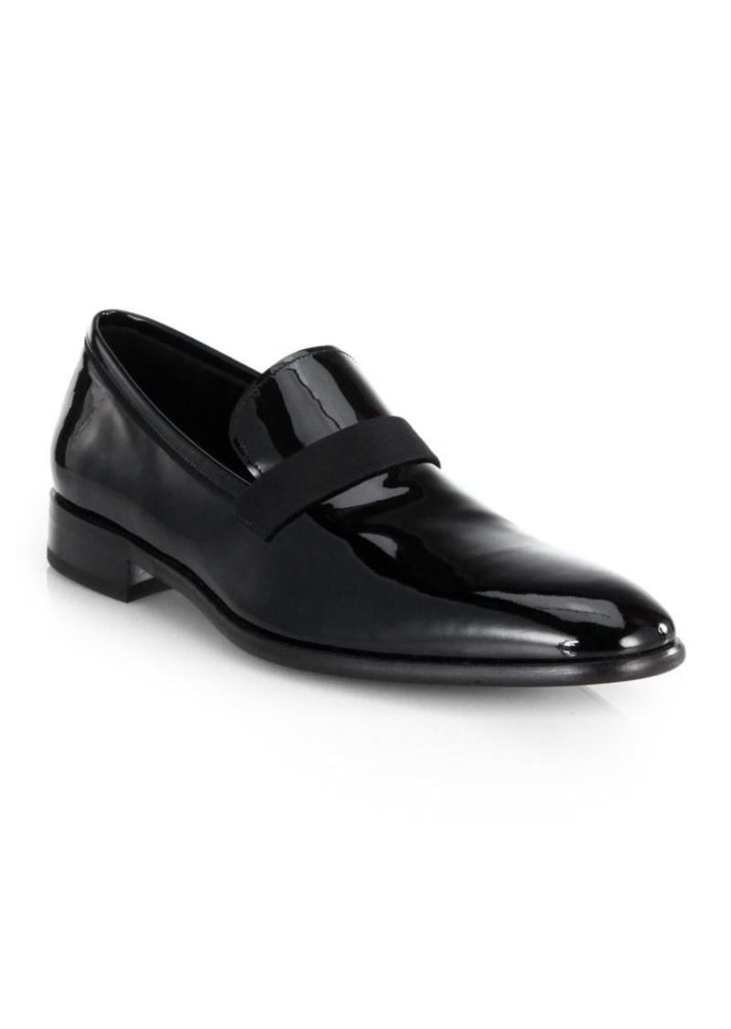Salvatore FerragamoAntoane Patent Slip-On Shoes vK0aUnz2