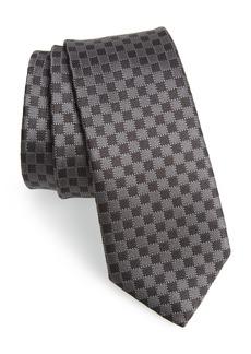 Salvatore Ferragamo Arleq Print Silk Tie