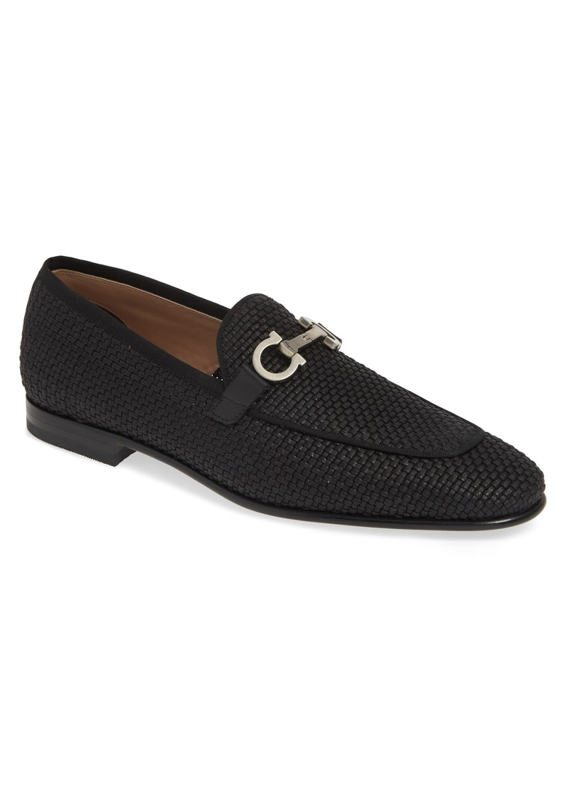 Salvatore Ferragamo Ascona Bit Loafer (Men)