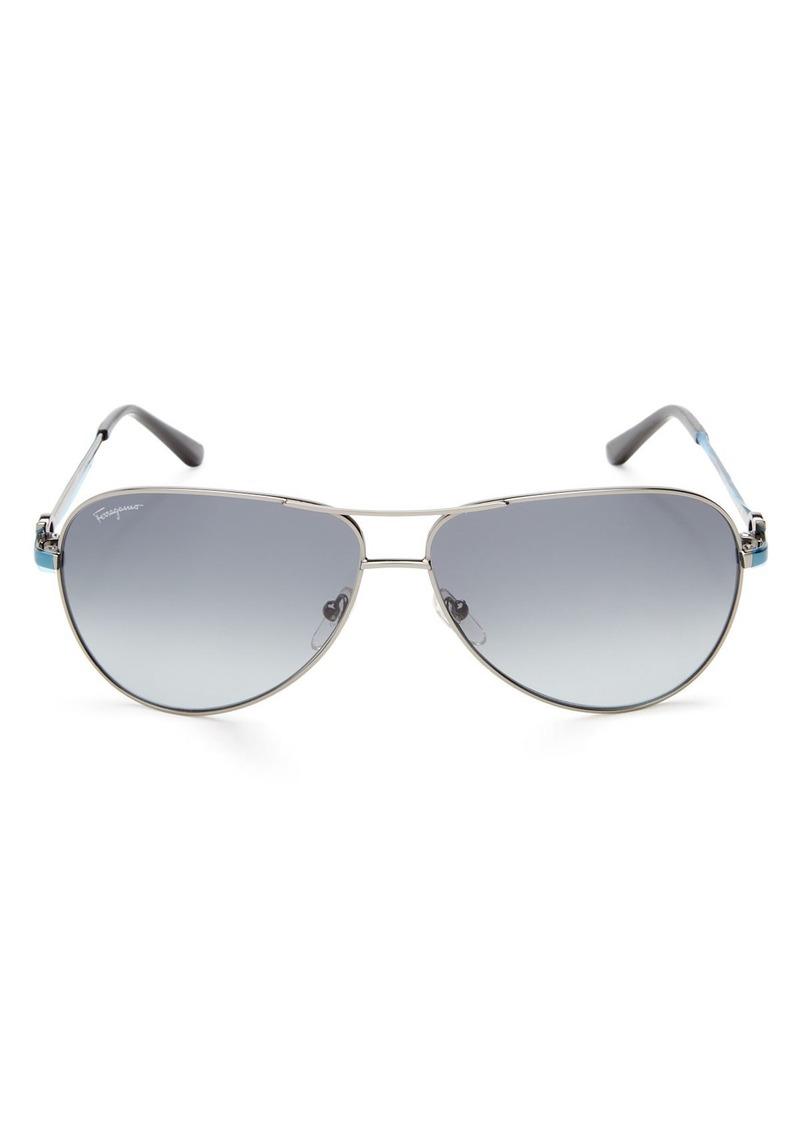 00ac3a040f0a7 Ferragamo Salvatore Ferragamo Men s Aviator Sunglasses