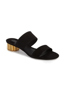 Salvatore Ferragamo Belluno Double Band Slide Sandal (Women)