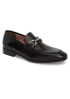 Salvatore Ferragamo Benford Rounded Bit Loafer (Men)