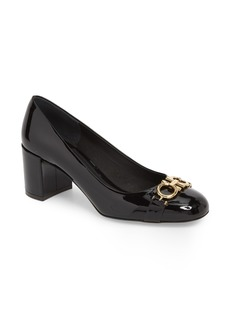 Salvatore Ferragamo Garda Block Heel Pump (Women)
