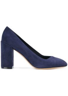 Salvatore Ferragamo block heel pumps - Blue