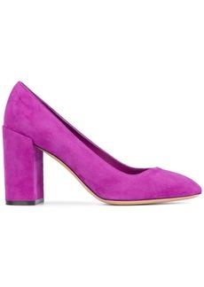 Salvatore Ferragamo block heel pumps - Pink & Purple