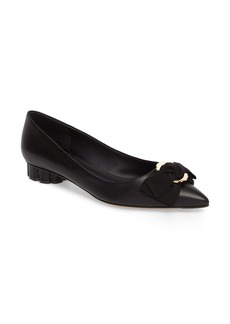 Salvatore Ferragamo Talla Bow Pump (Women)