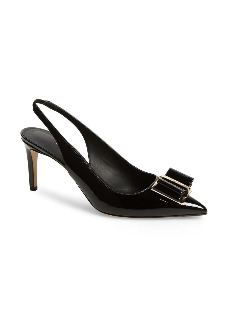 Salvatore Ferragamo Bow Slingback Pump (Women)