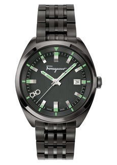 Salvatore Ferragamo Bracelet Watch, 40mm