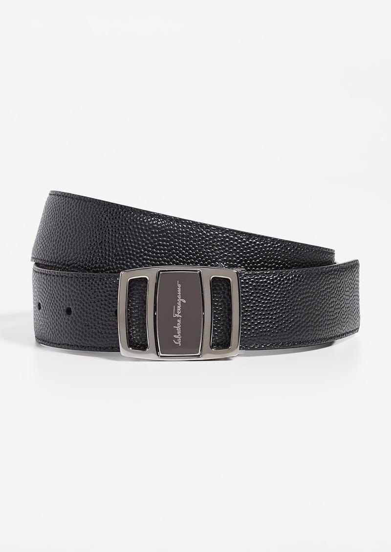 Salvatore Ferragamo Branded Buckle Belt