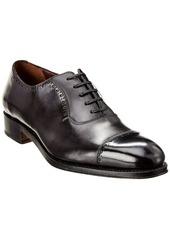 Salvatore Ferragamo Brawell Leather Cap-Toe Oxford