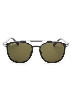 Salvatore Ferragamo Men's Brow Bar Square Sunglasses, 54mm