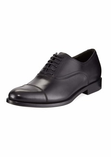 Salvatore Ferragamo Calf Leather Lace-Up Dress Oxford