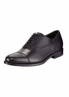 Ferragamo Men's Calf Leather Lace-Up Dress Oxford