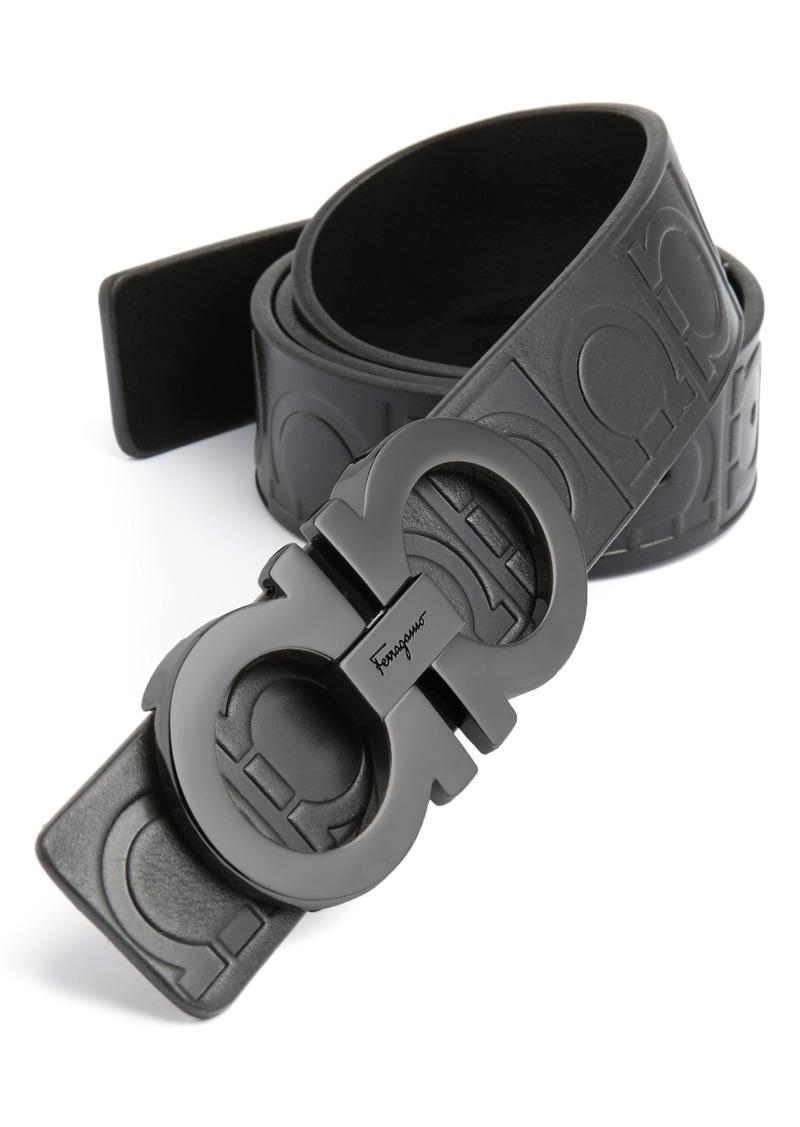 Salvatore Ferragamo Calfskin Leather Belt