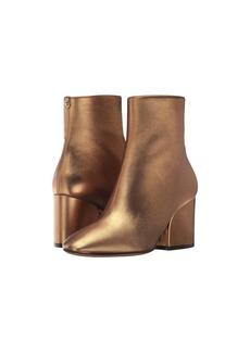 Ferragamo Calfskin Mid-Heel Bootie