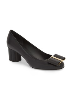 Salvatore Ferragamo Capua Bow Pump (Women)