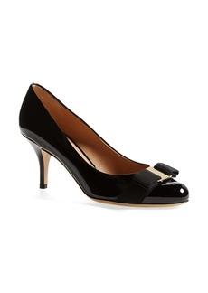 Salvatore Ferragamo 'Carla' Patent Leather Pump (Women)