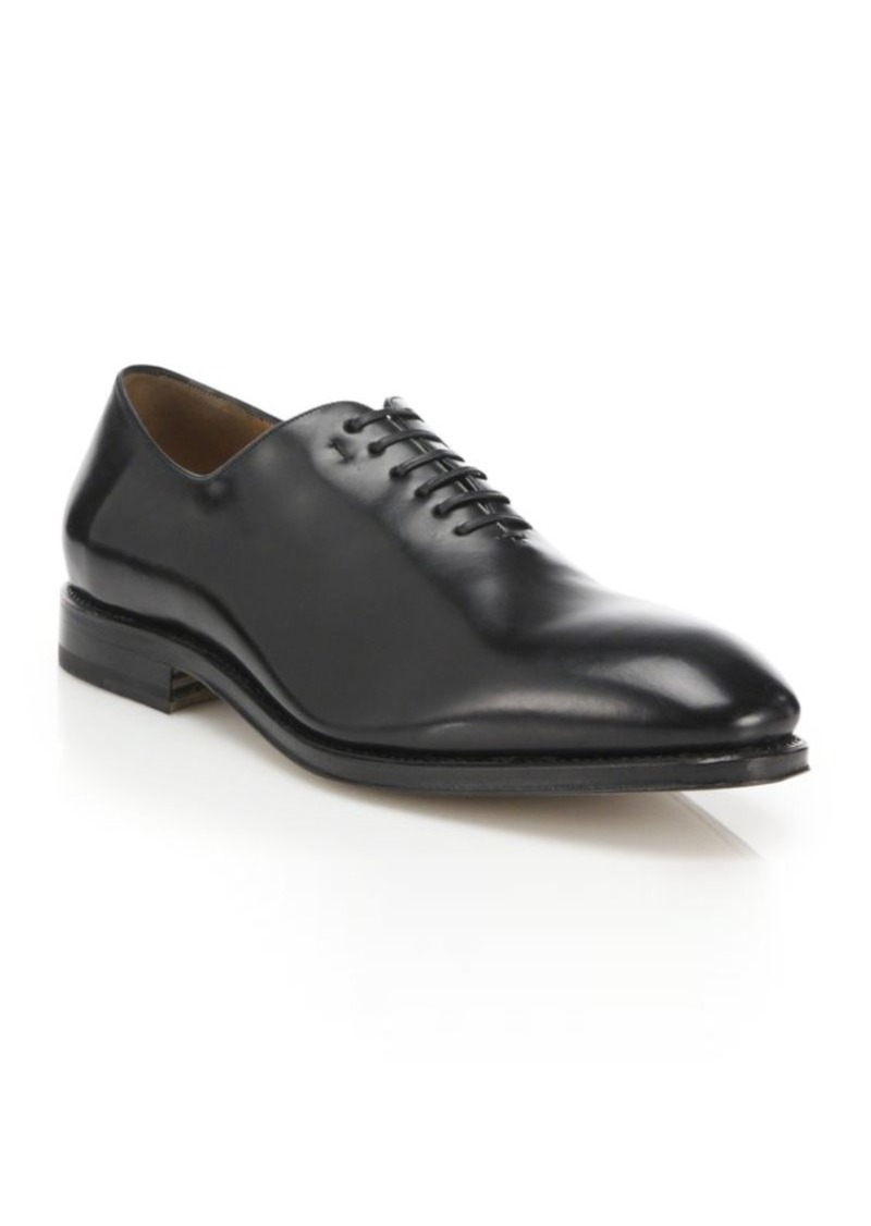 Ferragamo Carmelo Leather Oxford Shoes
