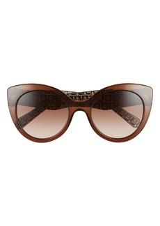 Salvatore Ferragamo Classic 54mm Gradient Cat Eye Sunglasses