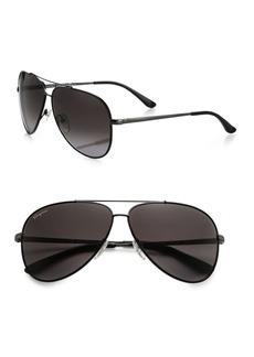 Ferragamo Classic Aviator 60MM Sunglasses
