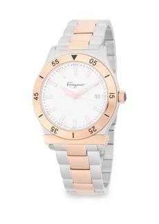 Ferragamo Classic Stainless Steel Bracelet Watch