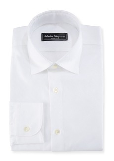 Ferragamo Men's Cotton Gancini-Jacquard Sport Shirt