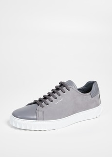 Salvatore Ferragamo Cube Low Top Sneakers