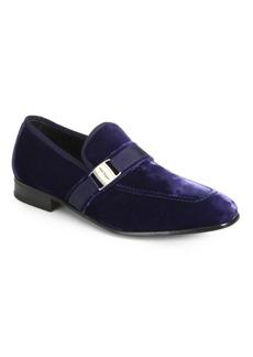 Ferragamo Danny 2 Velvet Formal Shoes