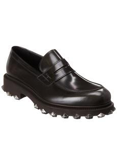 Salvatore Ferragamo Darsen Leather Loafer