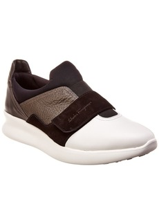 Salvatore Ferragamo Dion Leather Sneaker