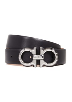 Salvatore Ferragamo Double Gancini Belt
