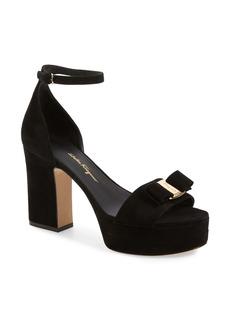 Salvatore Ferragamo Eclipse Platform Sandal (Women)