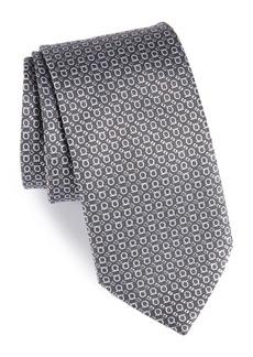 Salvatore Ferragamo Efeso Print Silk Tie