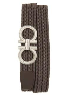 Salvatore Ferragamo Elastic Web Belt