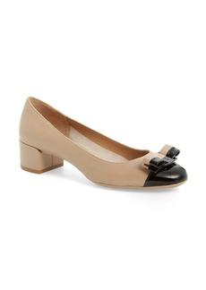 Salvatore Ferragamo Elea Block Heel Pump (Women)