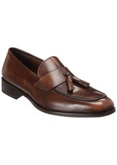 Salvatore Ferragamo Elegant Leather Moccasin