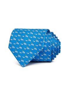 Salvatore Ferragamo Elephants, Mice & Hearts Silk Classic Tie