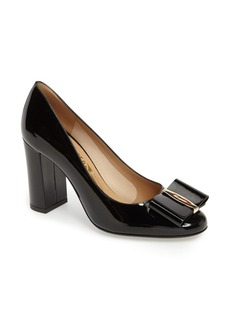 Salvatore Ferragamo Elinda Block Heel Pump (Women)