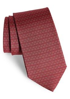 Salvatore Ferragamo Elisir Print Silk Tie
