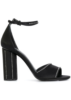 Salvatore Ferragamo embellished sandals - Black