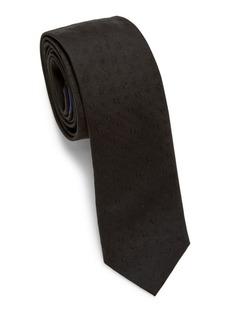 Ferragamo Embroidered Silk Tie