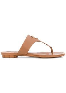 Salvatore Ferragamo Enfola sandals - Brown