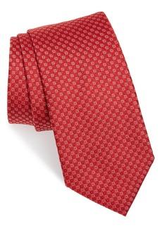 Salvatore Ferragamo Enna Neat Silk Tie